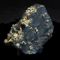 Pyrite On Bournonite