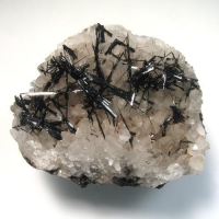 Manganite On Calcite