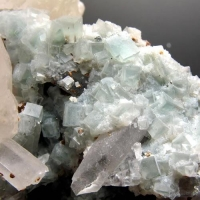 Fluorite Calcite & Siderite