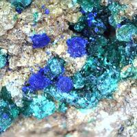 Brochantite & Azurite