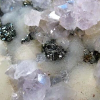 Amethyst Marcasite & Calcite