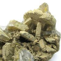 Baryte & Antimony Ochre
