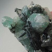 Fluorite Tourmaline & Quartz