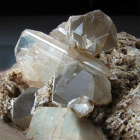Topaz Quartz & Microcline Var Amazonite