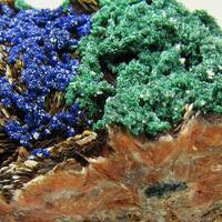 Azurite Malachite & Baryte
