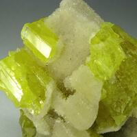 Calcite & Native Sulphur