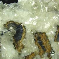 Calcite Galena & Schalenblende