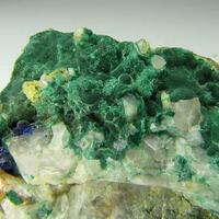 Malachite Azurite & Baryte