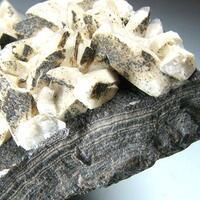 Calcite & Schalenblende
