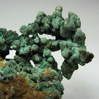 Native Copper & Malachite