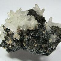 Stibnite Quartz & Marcasite