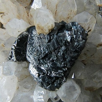 Tetrahedrite Bournonite Pyrite & Quartz