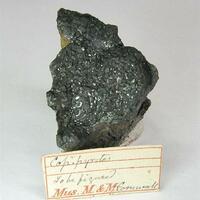 Chalcopyrite Var Blister Copper & Chalcocite