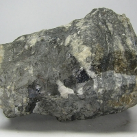 Native Arsenic Galena Pyrargyrite & Calcite