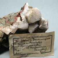 Quartz Psm Apophyllite Heulandite & Apophyllite