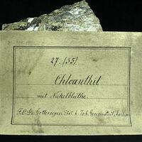 Chloanthite & Annabergite