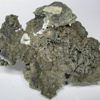 Native Silver & Löllingite