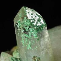 Malachite & Rock Crystal
