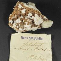 Sphalerite Baryte & Calcite