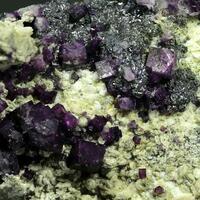 Fluorite Skutterudite & Safflorite