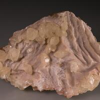 Calcite & Zincian Dolomite