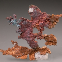 Copper Cuprite & Malachite