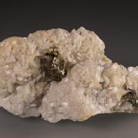 Chalcopyrite Pyrite & Dolomite