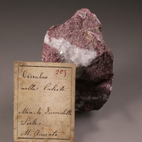 Cinnabar & Calcite