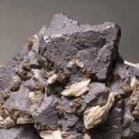 Galena Sphalerite Baryte & Calcite