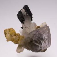 Fluorite Quartz & Schorl