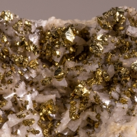 Chalcopyrite Dolomite & Calcite
