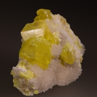 Sulphur & Calcite