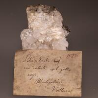Calcite & Laumontite
