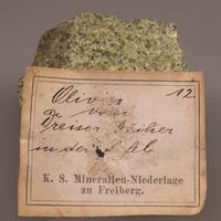 Forsterite Enstatite & Chromium Diopside