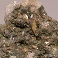 Titanite Adularia Chlorite Quartz & Byssolite