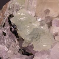 Prehnite Calcite Quartz & Epidote