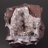 Hematite Var Kidney Ore Quartz & Specularite