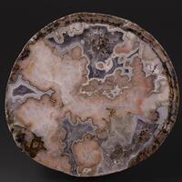 Agate Quartz & Calcite