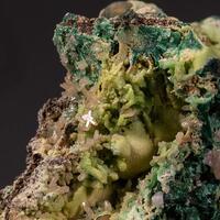 Pyromorphite Cerussite & Malachite
