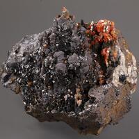 Pyrolusite Vanadinite & Manganomelane