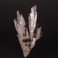 Chalcopyrite & Rock Crystal
