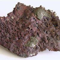 Cuprite In Native Copper