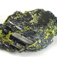 Azurite With Bayldonite
