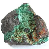 Brochantite On Cuprite