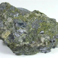 Molybdenite With Epidote