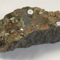 Gold With Pyrite