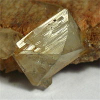 Topaz On Orthoclase