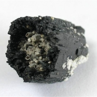 Tourmaline Var Schorl With Mica