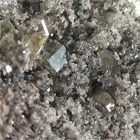 Melanotekite With Anglesite & Kegelite