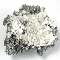 Native Silver With Analcime